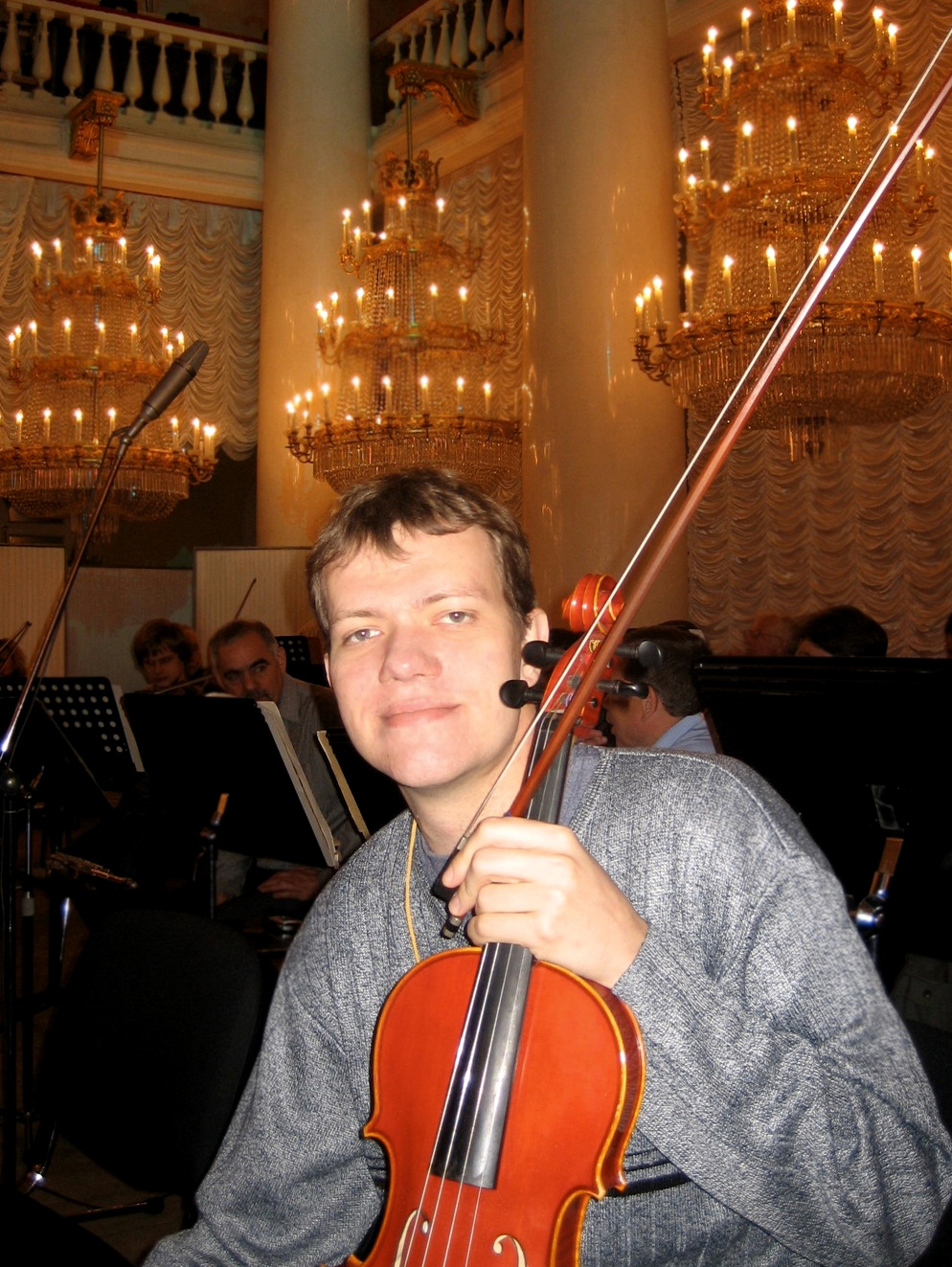 With Novosibirsk State Symphony in Saint Petersburg